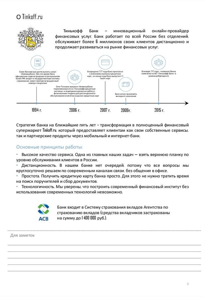 Онлайн банки россии без отделений