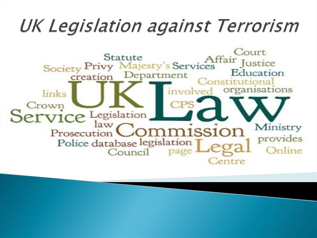 UK Legislation against Terrorism