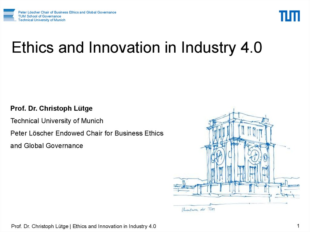 Ethics and Innovation in Industry 4.0