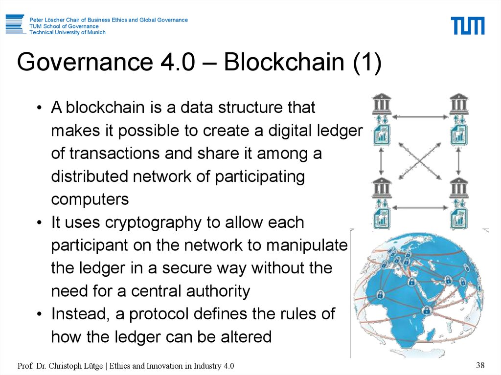 Governance 4.0 – Blockchain (1)