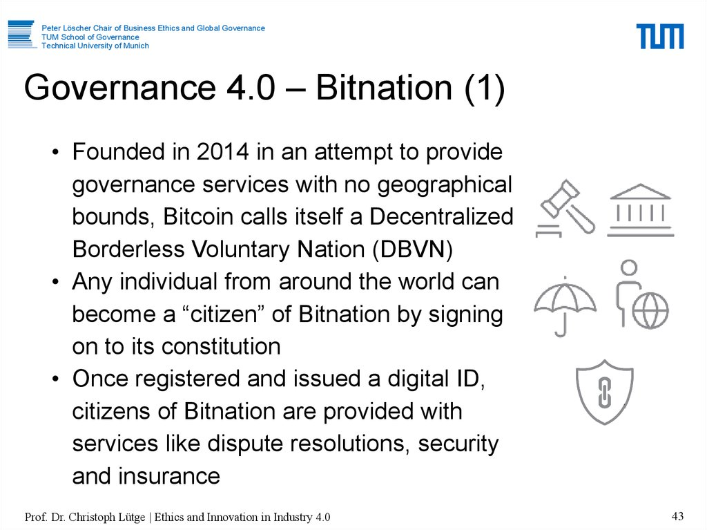Governance 4.0 – Bitnation (1)
