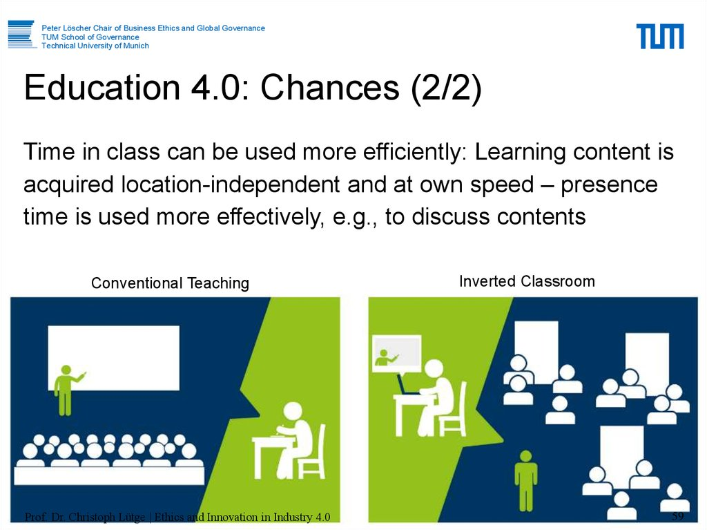 Education 4.0: Chances (2/2)