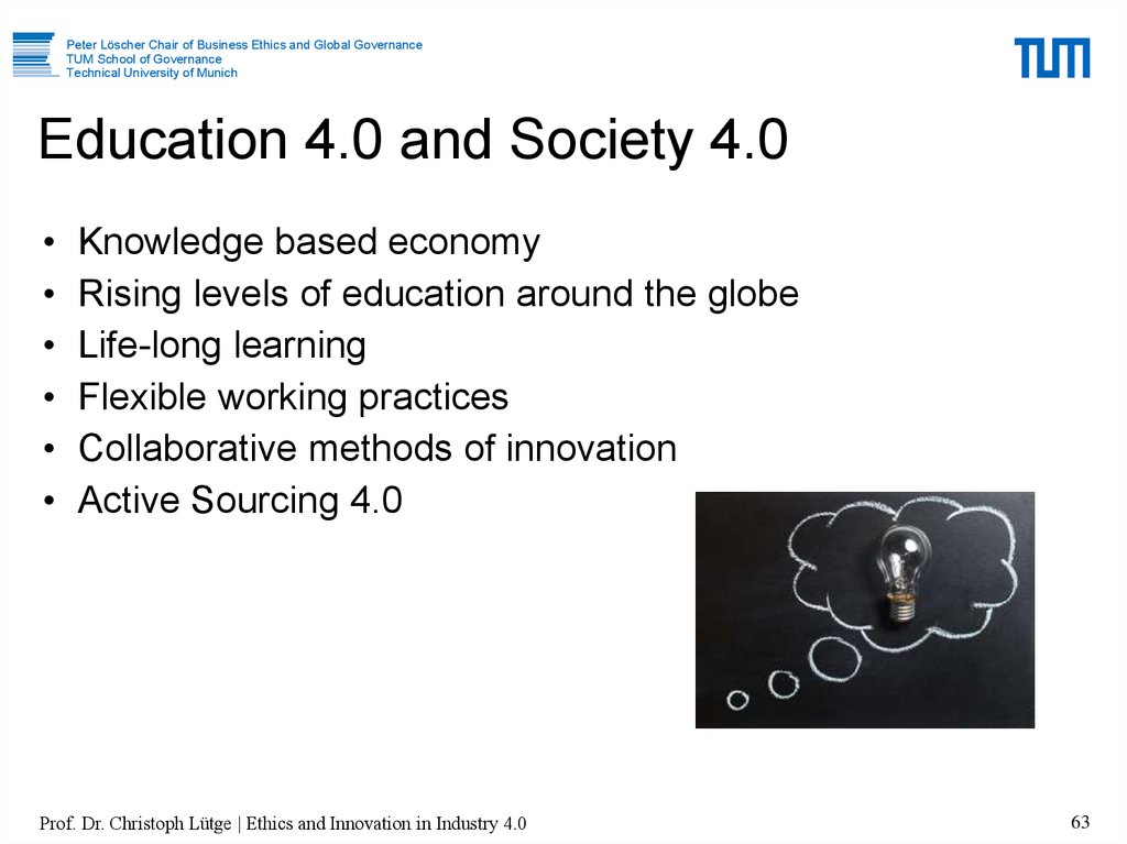 Education 4.0 and Society 4.0