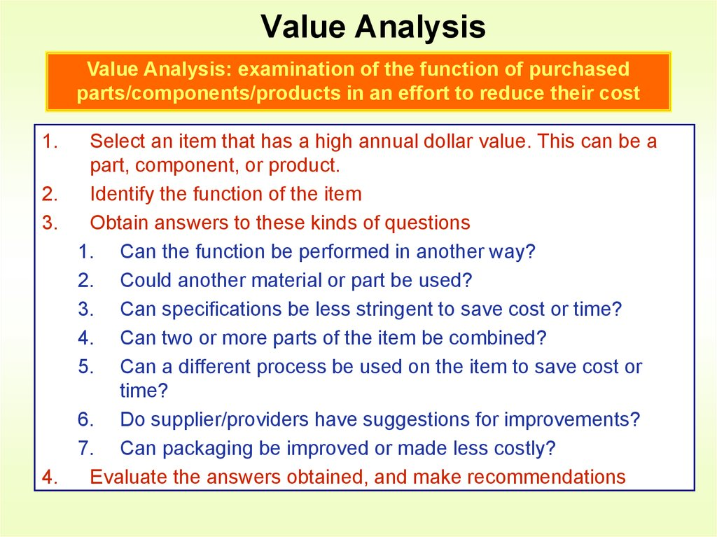 personal values analysis Value chain analysis is a useful tool for working out how you can create the greatest possible value for your on a personal level, if you add a lot of value to your team, you will excel in what you do.