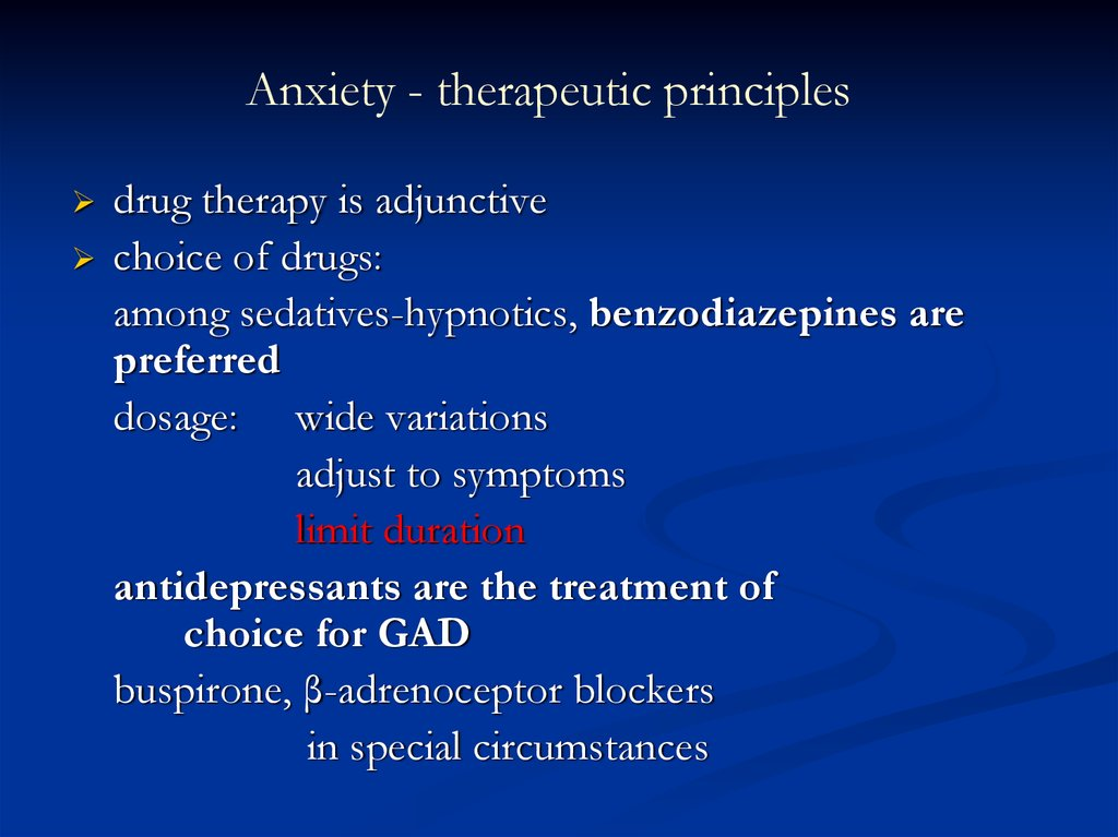 Management of benzodiazepine withdrawal