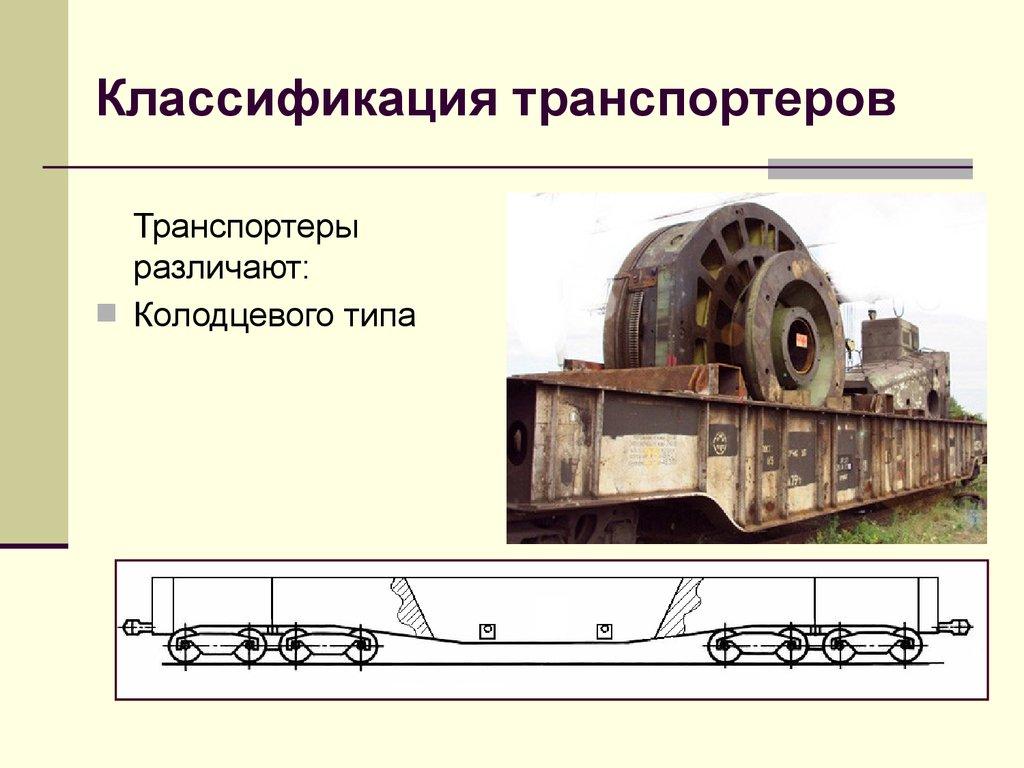 что относится к то 1 железнодорожных транспортеров