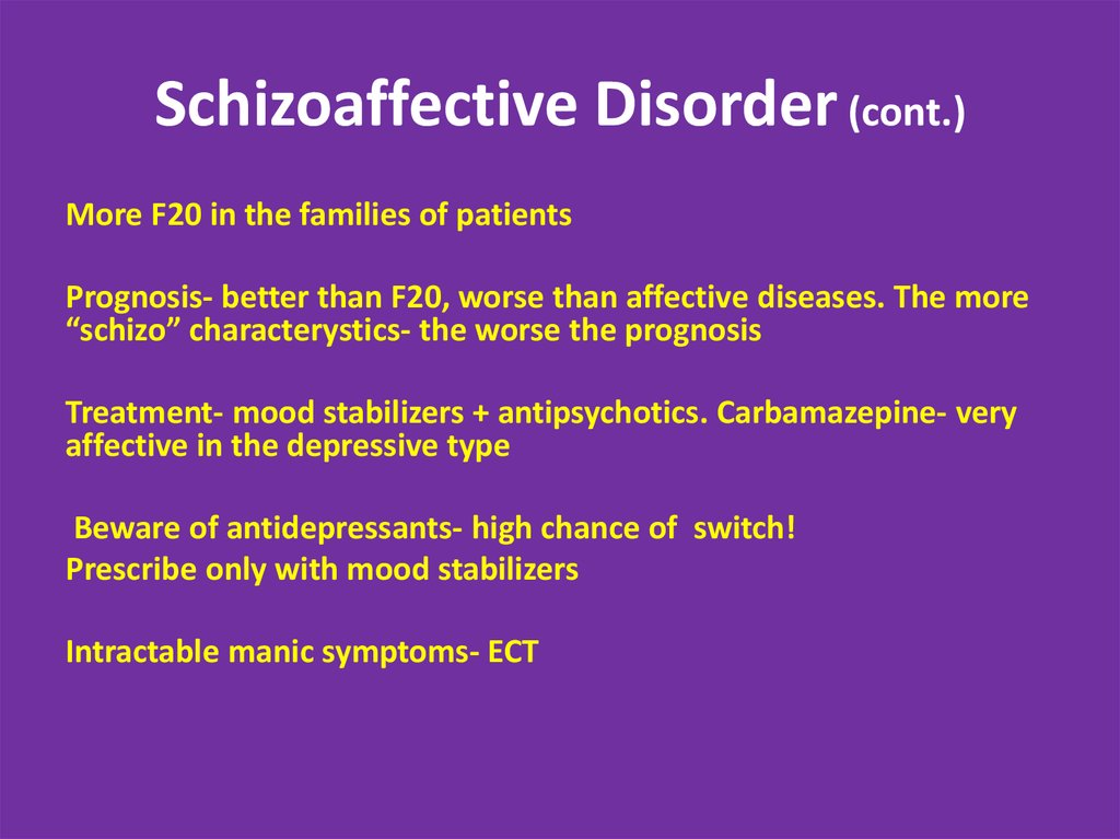 Diagnostic Criteria for Schizoaffective Disorder