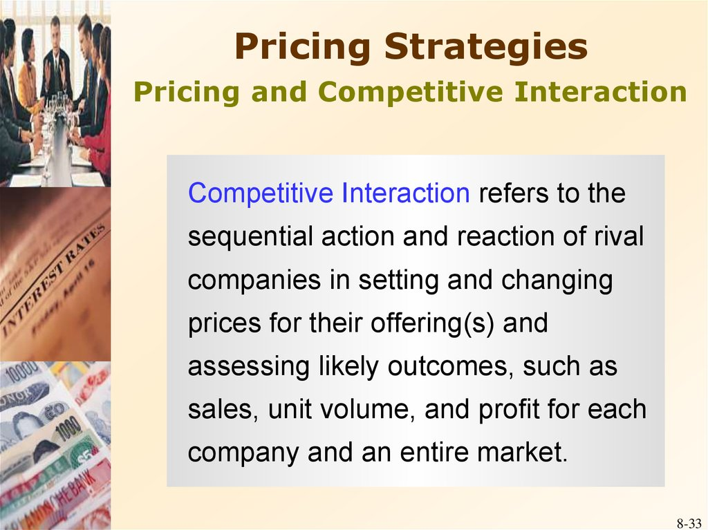competitive and pricing strategies of centre Creating the right pricing strategy can be excruciating competitive pricing: set the price equal to what your competitors are charging and win the service game.