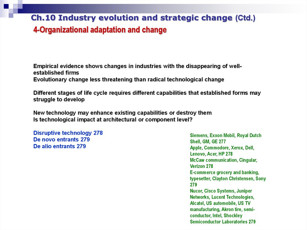 Apple and Lenovo's Technology Stratagy