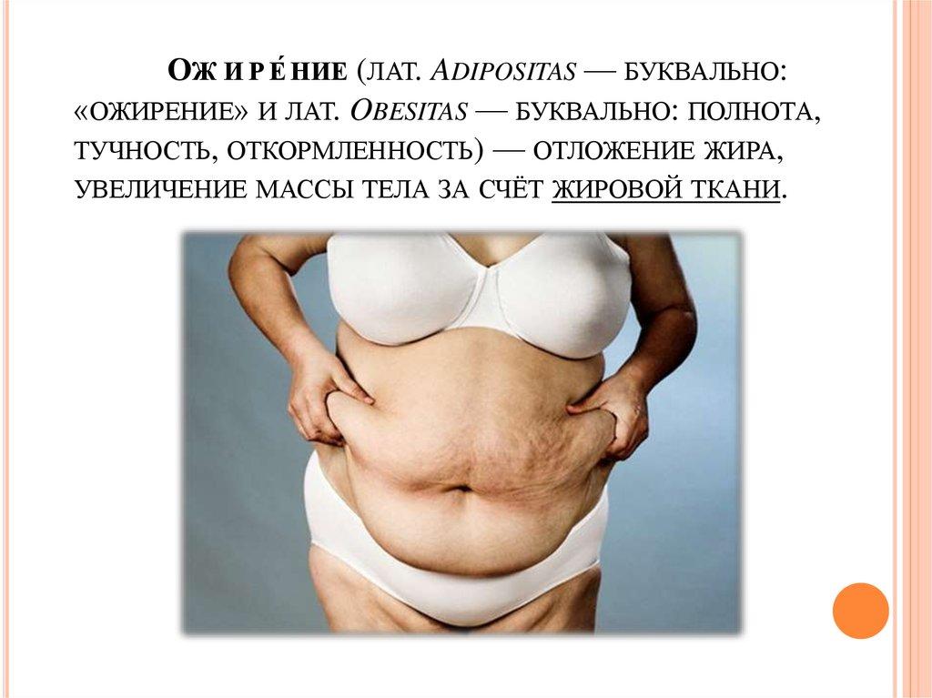 adipositas obesitas