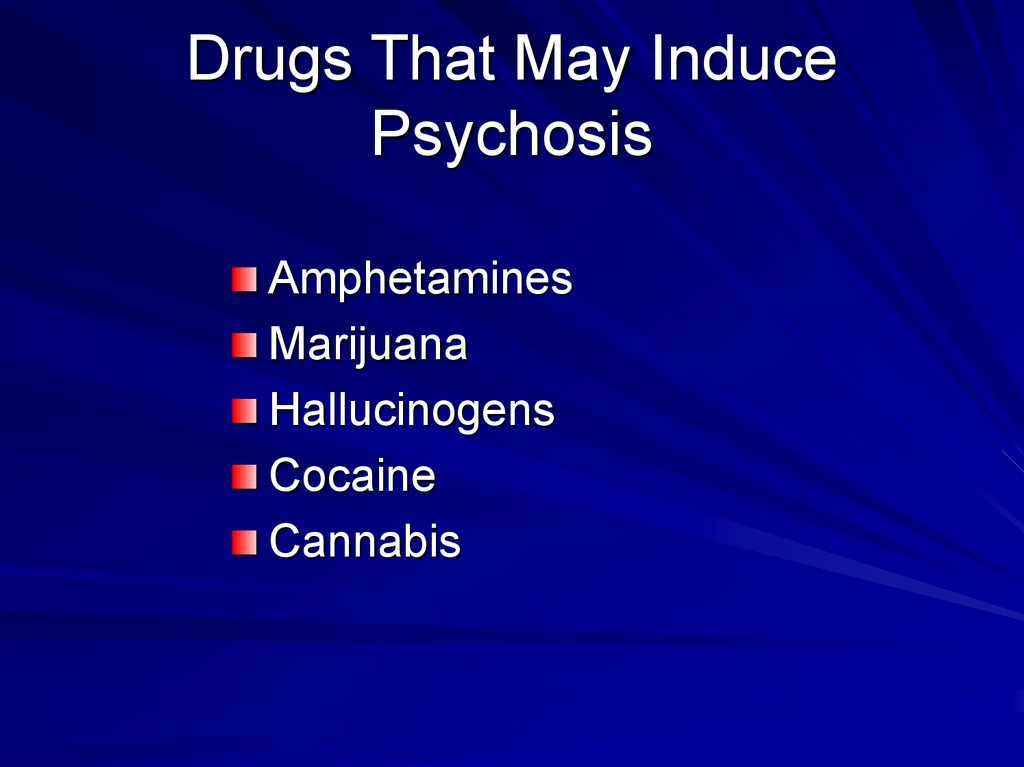 cocaine induced psychosis Substance-induced psychotic disorder the essential feature of shared psychotic disorder smoking a high dose of cocaine may produce psychosis within minutes.