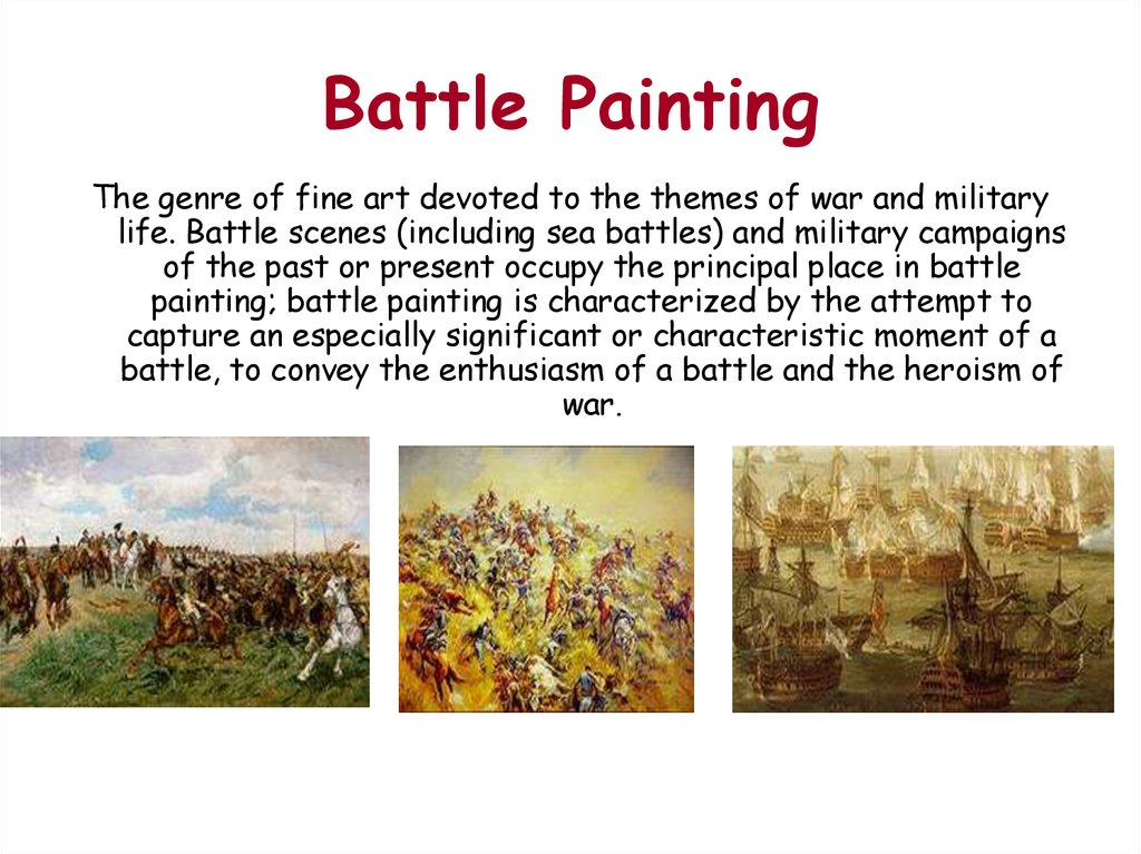 Battle Painting
