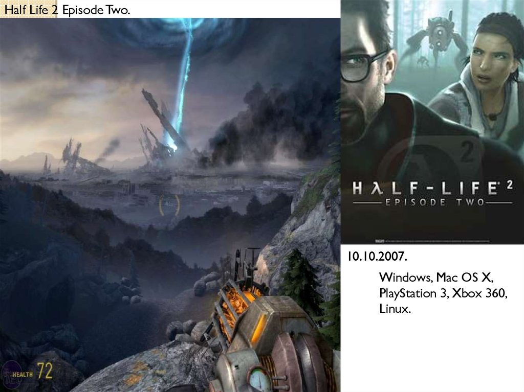 История серии видеоигры: Half Life - презентация онлайн