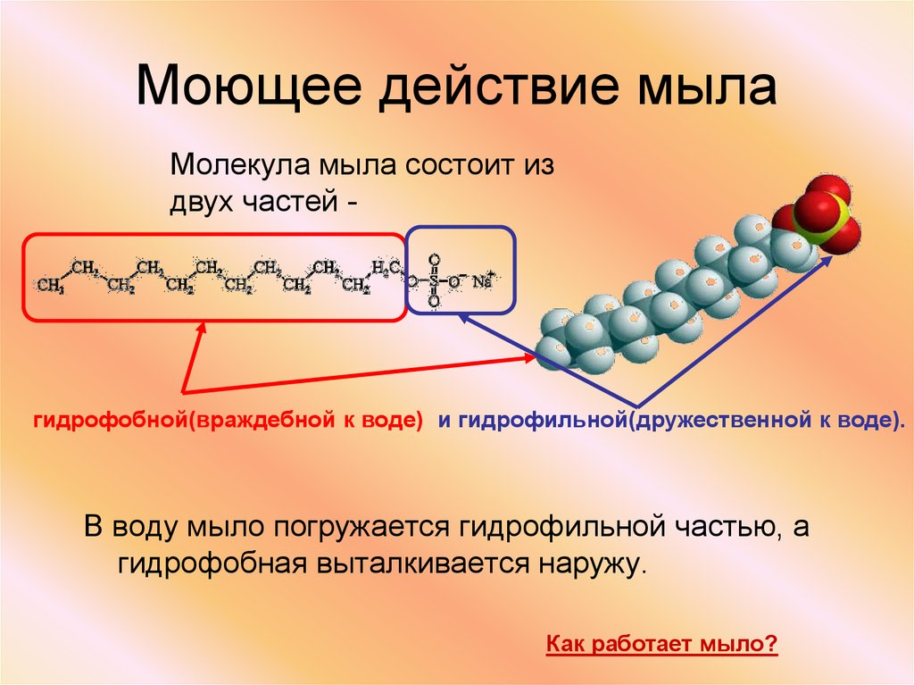 Картинки молекулы мыла