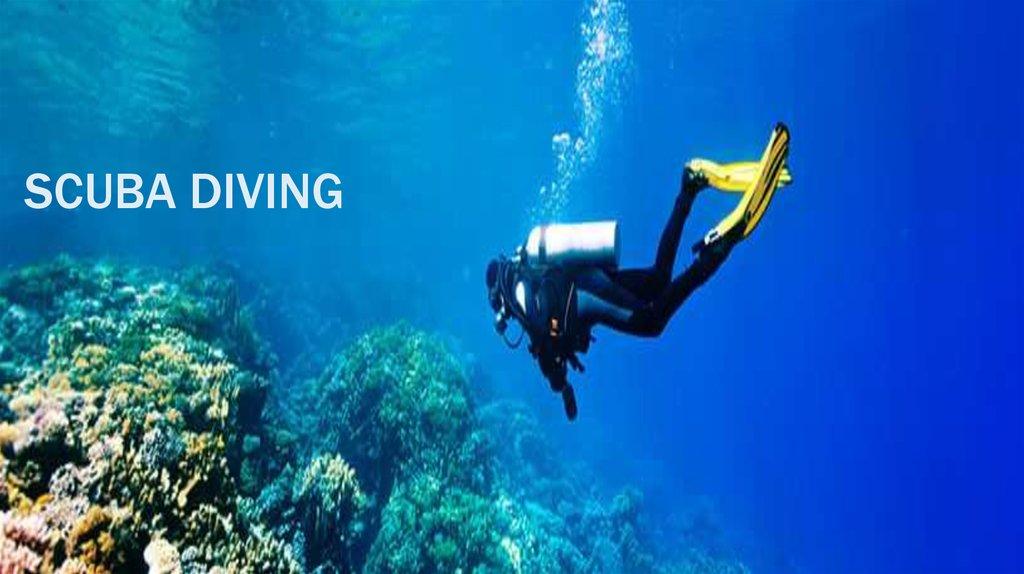 Scuba Diving Online Presentation