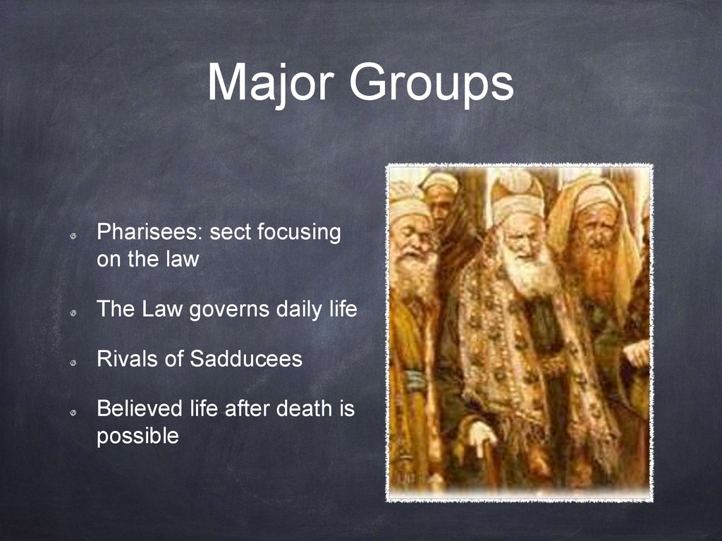 Major Groups