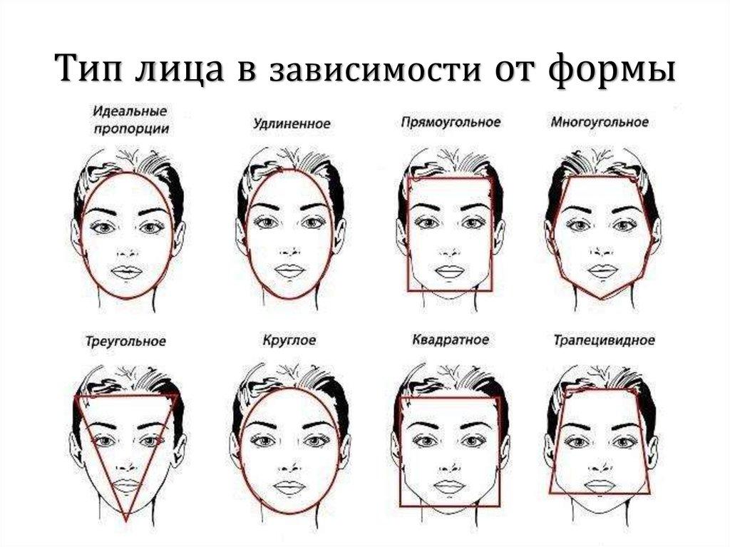 Картинка формы лица