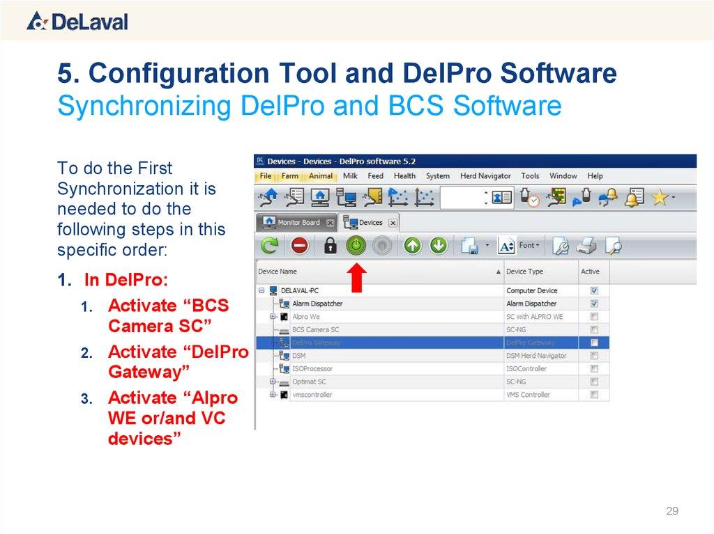 delpro software