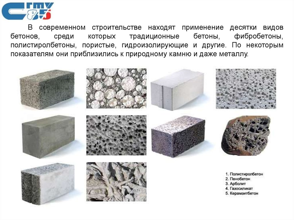 Технологии бетоны бетон минуса