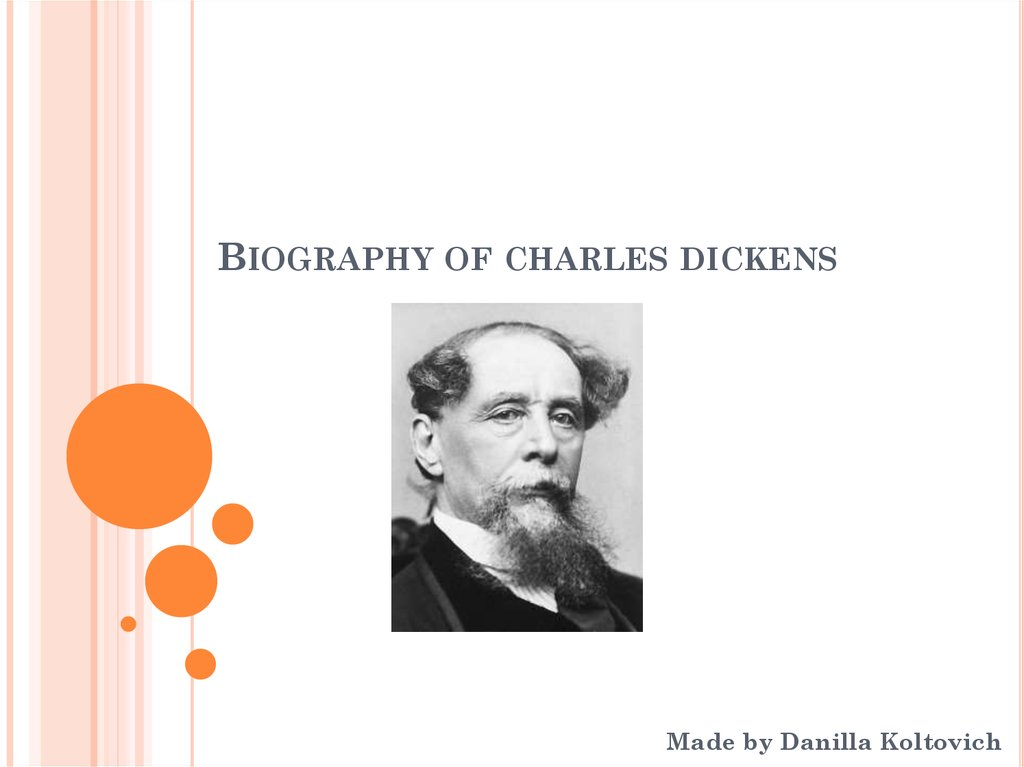 a biography of charles dickens an english author Charles dickens was one of the most famous authors of all time but did you know that charles was an actor before he was an author this lesson.