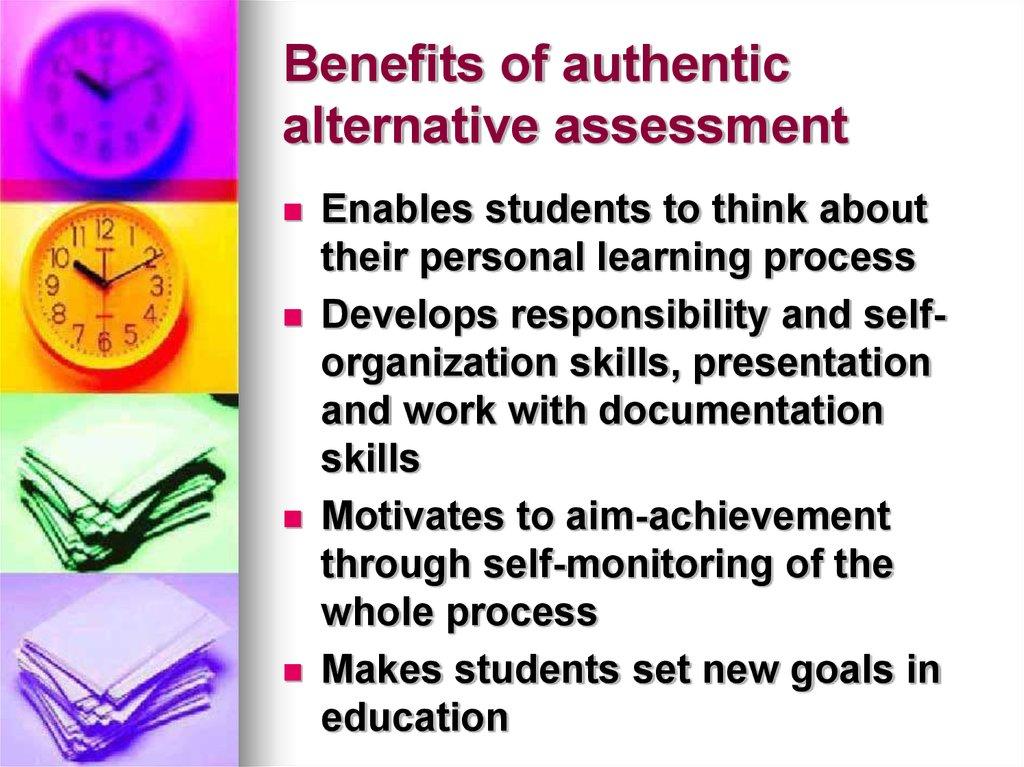 Modern systems of assessment in ELT - online presentation