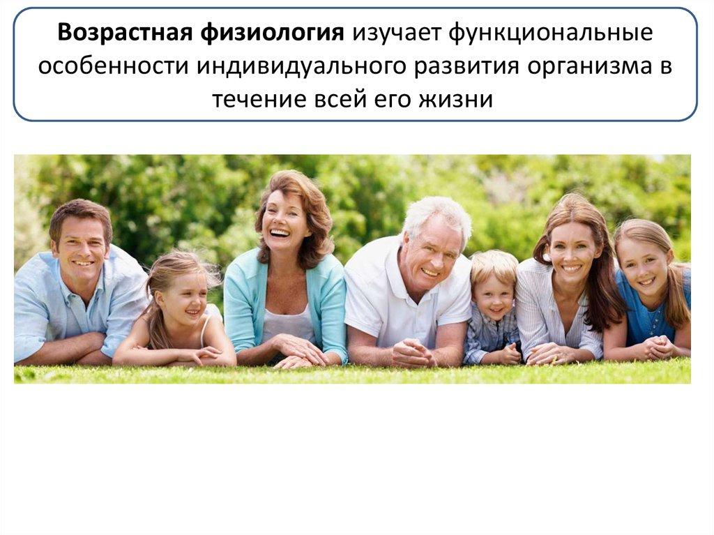 Возрастные периоды развития человека