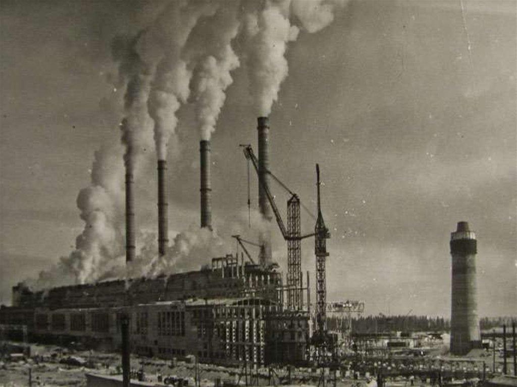 Первые тэс в россии фото