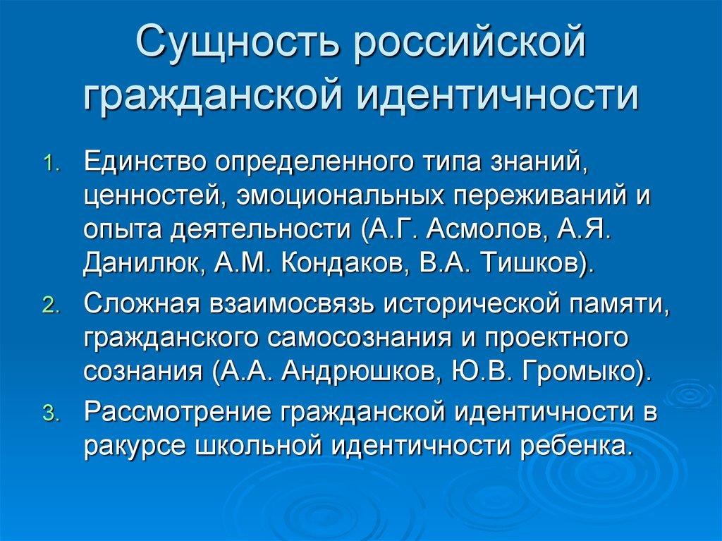 Символы современной российской идентичности