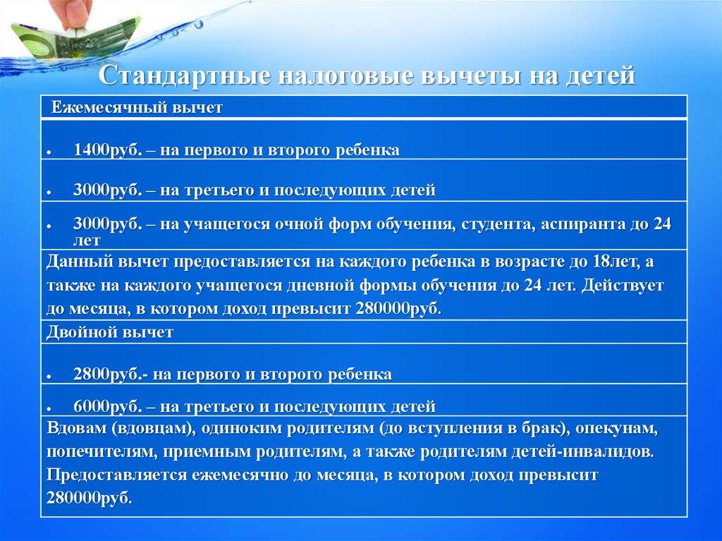 Начиная с месяца, в котором указанный доход превысил рублей, налоговый вычет, предусмотренный настоящим подпунктом, не применяется.