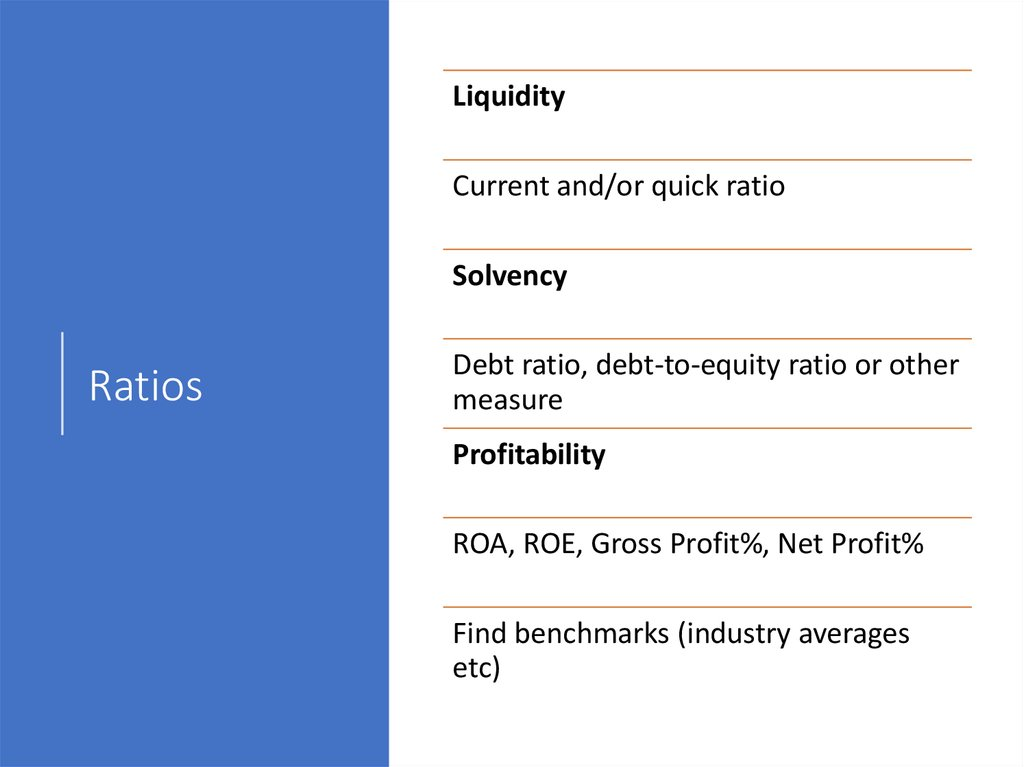 Cash flow statement (example)