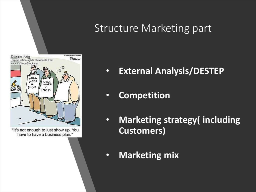 Structure Marketing part