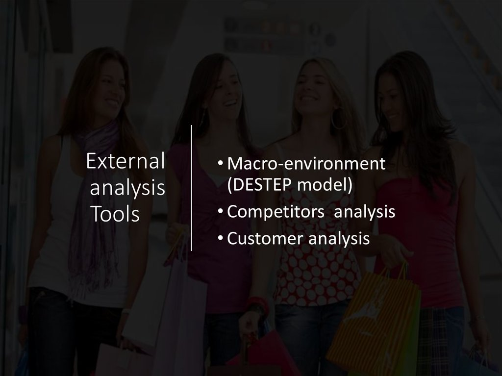 External analysis Tools