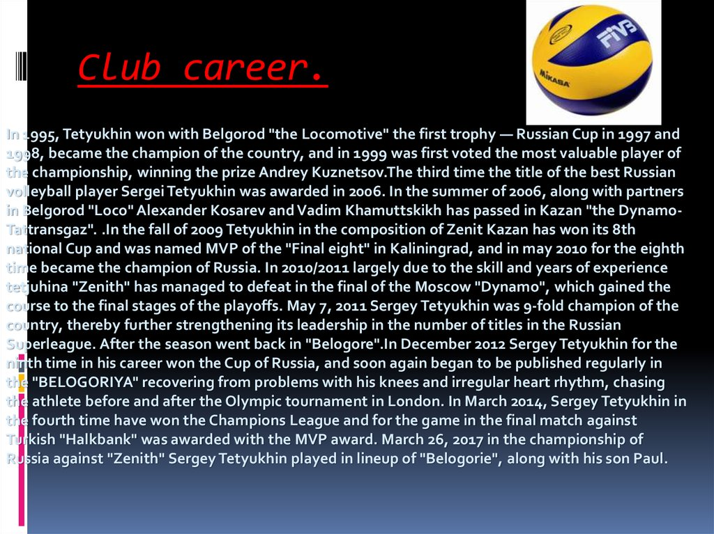 Club career.