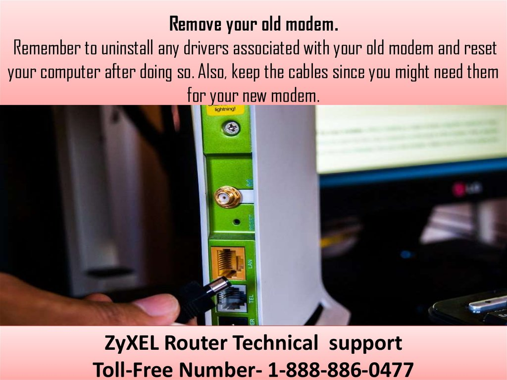 Welcome To ZyXEL Router Customer Care Center  How to Install a ZyXEL