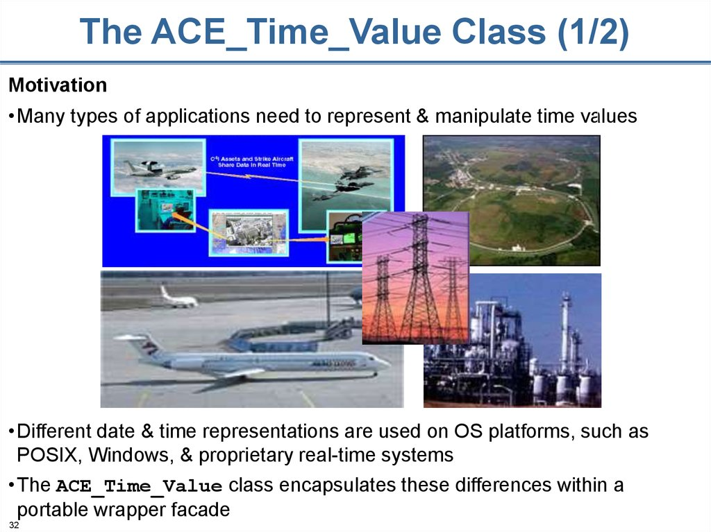 The ACE_Time_Value Class (1/2)