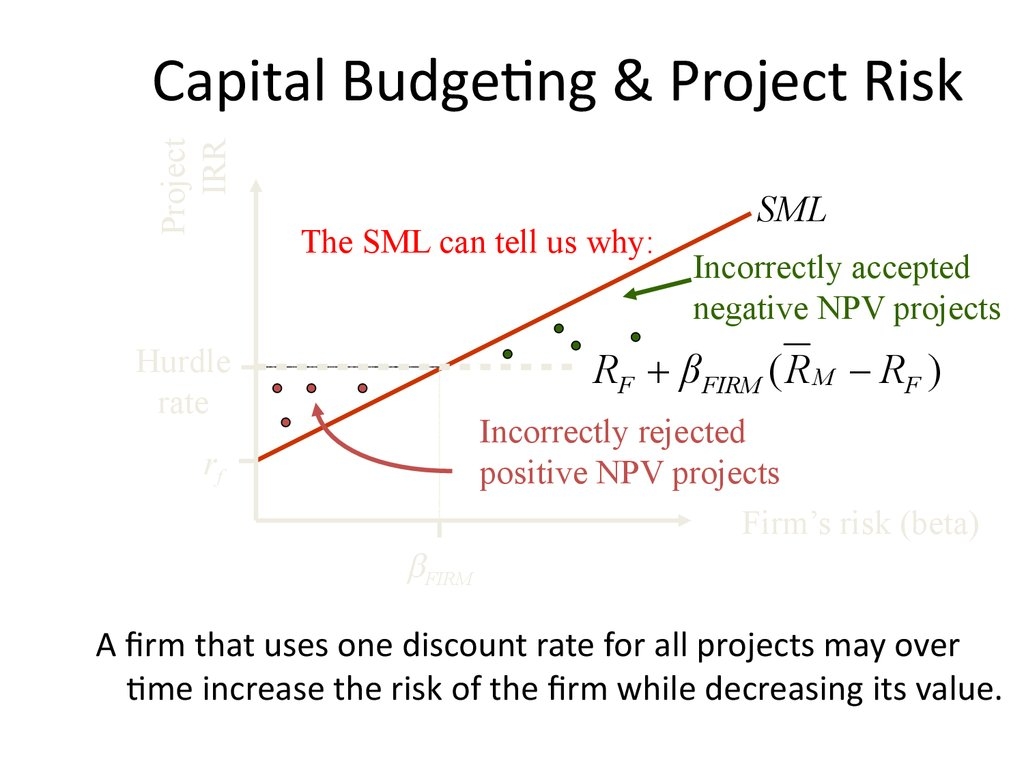 Risk Return and Project Decisions - online presentation