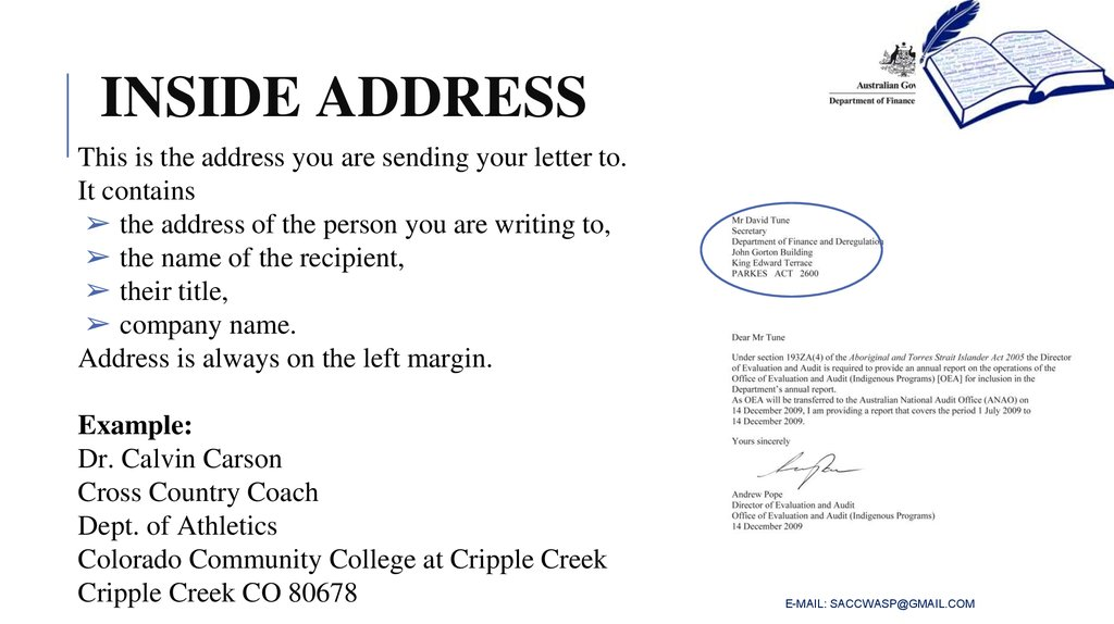 How To Write A Business Letter Online