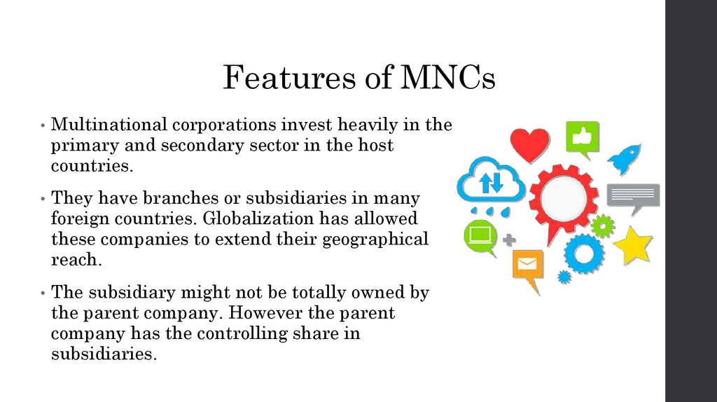 disadvantages of multinational corporations