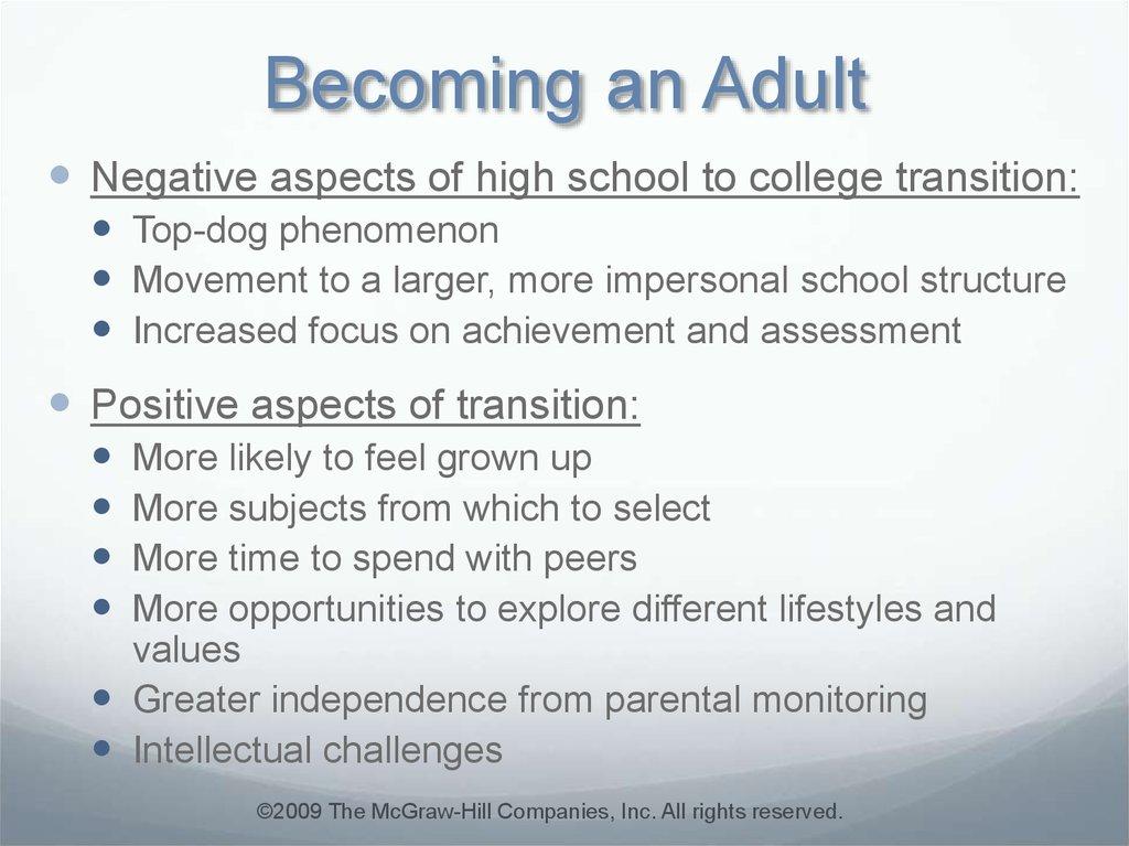 early adulthood challenges