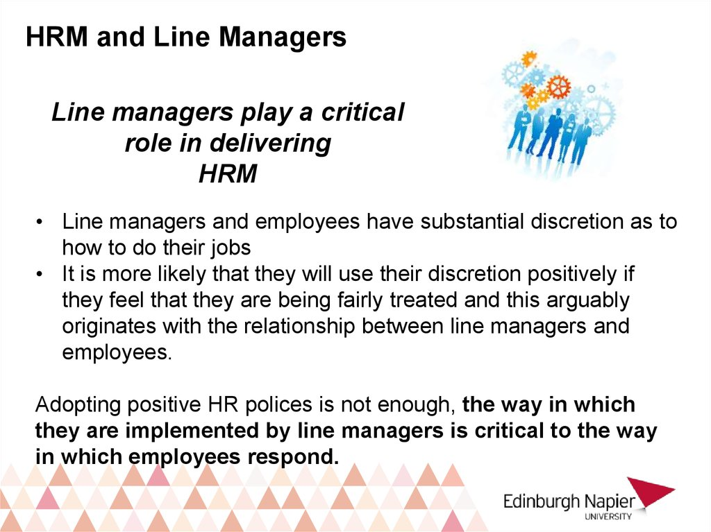 hrm devolving to line manager 27 challenges line managers encounter when implementing hrm   devolution of hr responsibility to line managers does not always suggest  business.