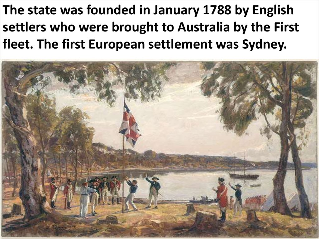 New South Wales is a state on the east coast of Australia - online  presentation
