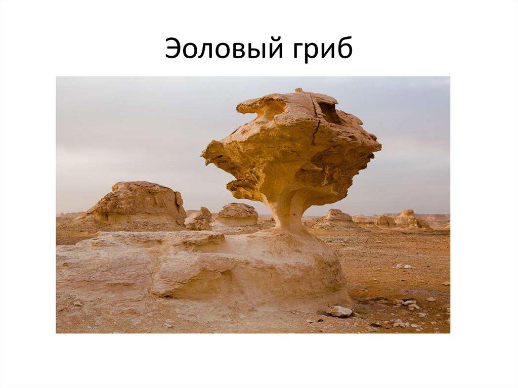 Эоловые формы рельефа - online presentation
