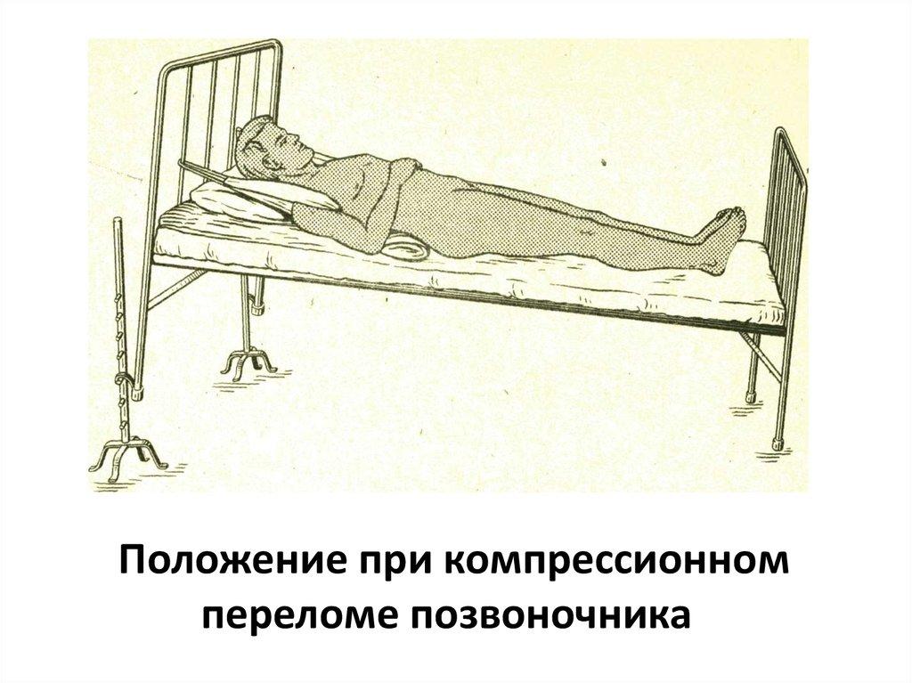 Медикаментозное лечение при компрессионном переломе позвоночника