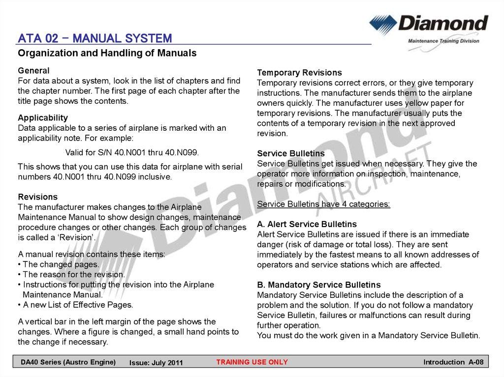group a introduction online presentation rh en ppt online org 100 Hour Aircraft Maintenance Logbook Entry Aircraft A380 Maintenance Manual
