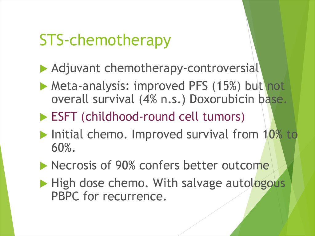STS-chemotherapy