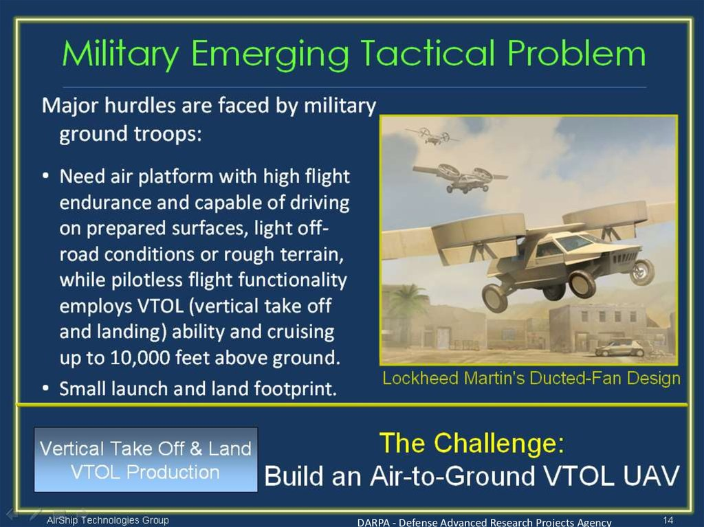 Military Emerging Tactical Problem