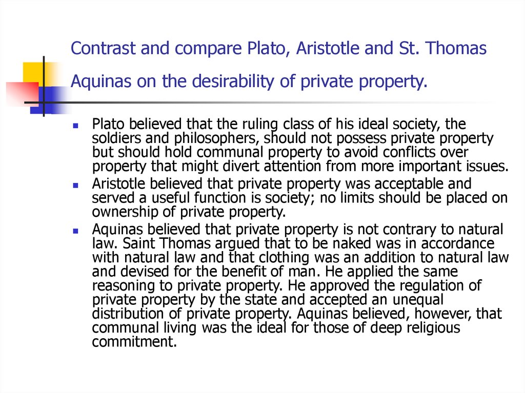compare and contrast plato and aristotle's Plato (437-347) was socrates' prized student from a wealthy and powerful family, his actual name was aristocles -- plato was a nickname, referring to his broad physique when he was about twenty, he came under socrates' spell and decided to devote himself to philosophy.