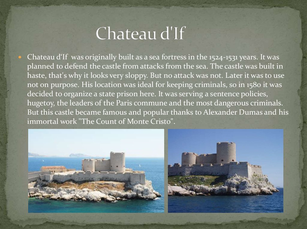 Chateau d'If