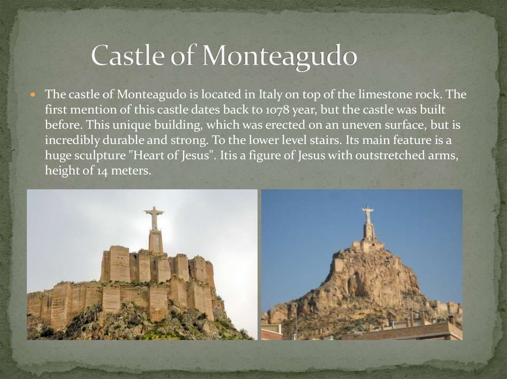Castle of Monteagudo