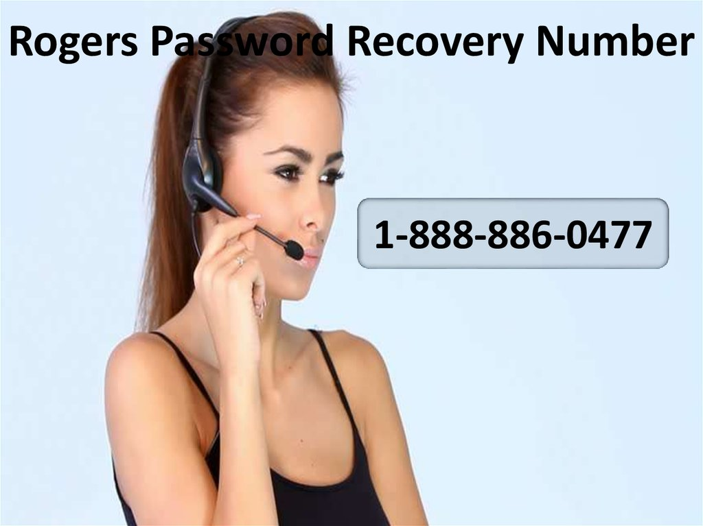 Rogers Password Recovery Number